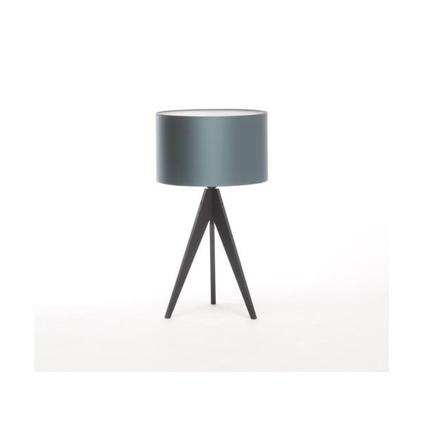 Stolní lampa Artista Black/Ice Blue, 65 cm