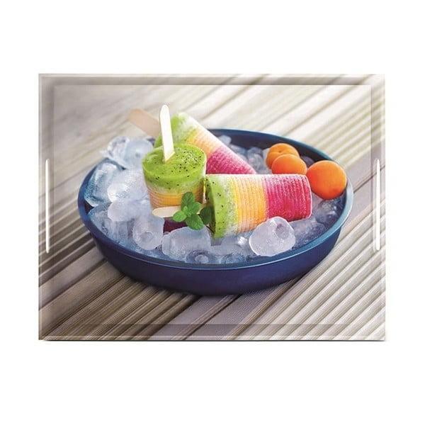 Podnos Classic Summertime Ice Cream, 50x37 cm