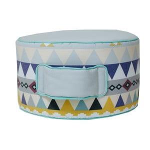 Mentolově zelený sedací puf VIGVAM Design Cute Tribe