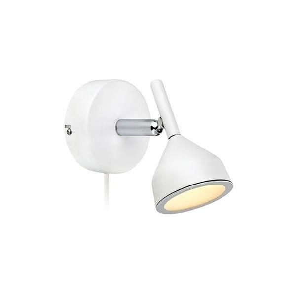 Bílé nástěnné světlo Markslöjd Bell Wall 1L, bílé