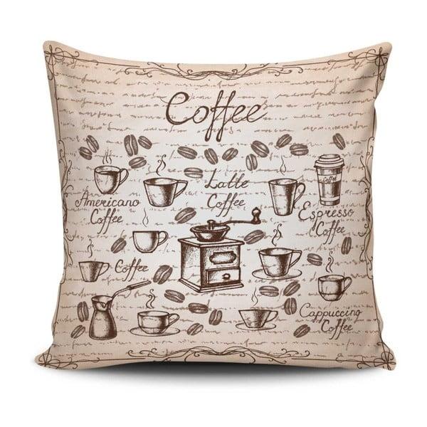 Polštář s příměsí bavlny Cushion Love Persio, 45 x 45 cm