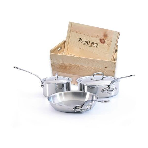 Mauviel  M'cook set nádobí, 5 ks