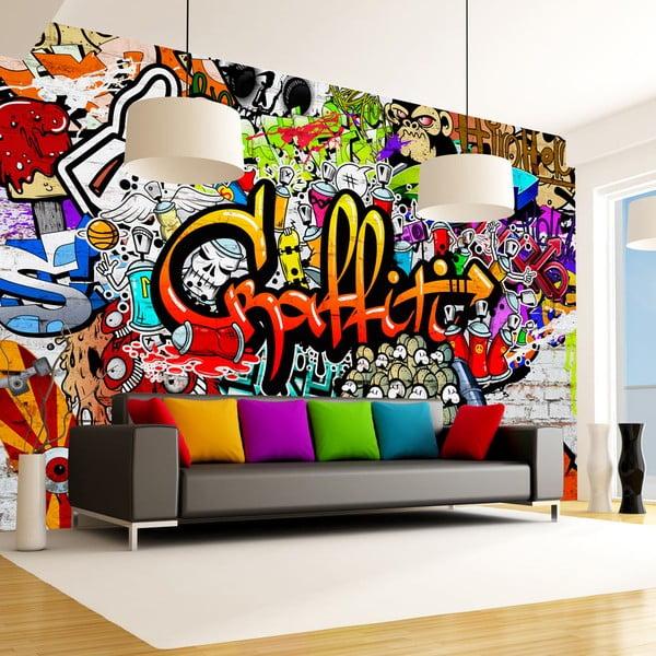 Colourful Graffiti nagyméretű tapéta 300 x 210 cm - Artgeist