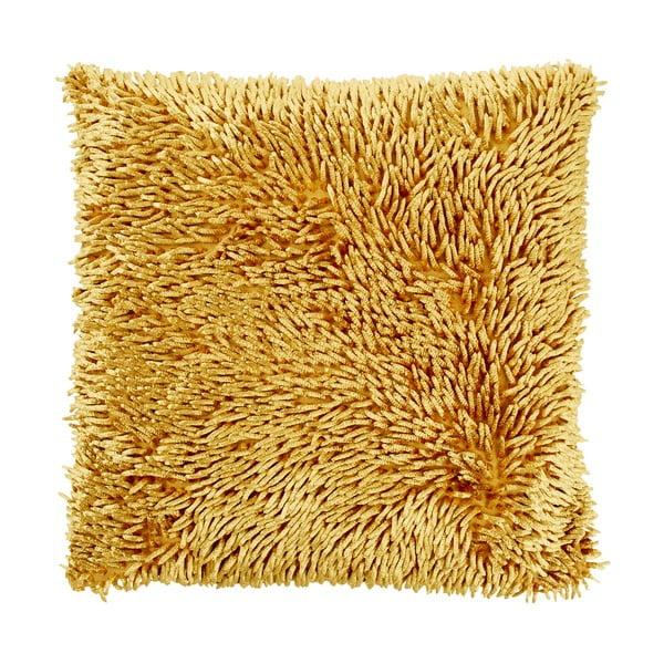 Polštář Hoffa Mustard, 45x45 cm