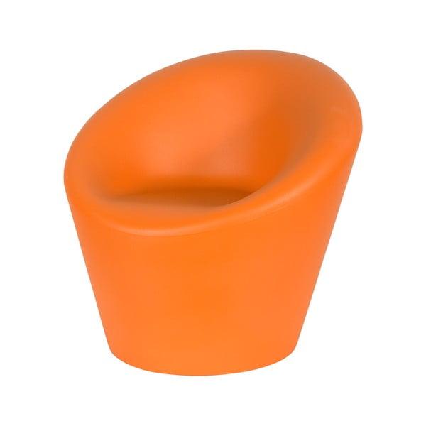 Venkovní křeslo Happy, oranžové