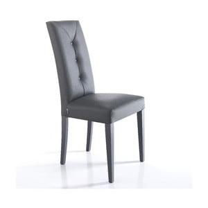 Sada 2 šedých jídelních židlí Tomasucci Lella