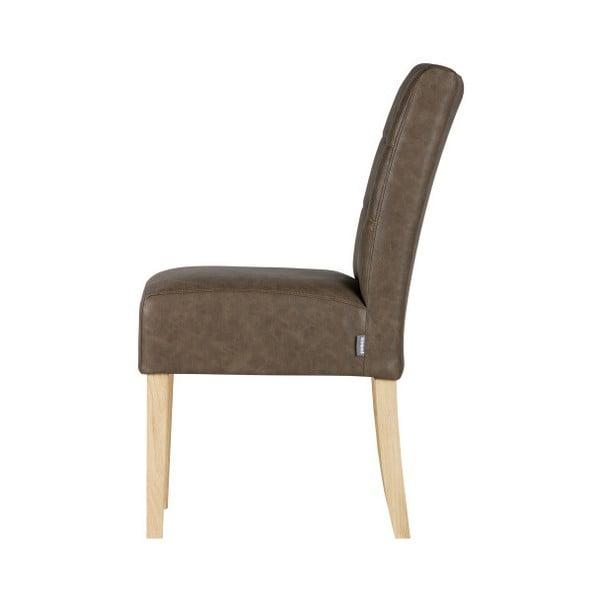 Sada 2 hnědých jídelních židlí De Eekhoorn,