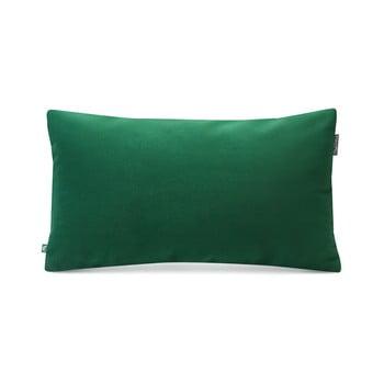 Față de pernă Mumla decorativă Velvet, 30 x 50 cm, verde sticlă