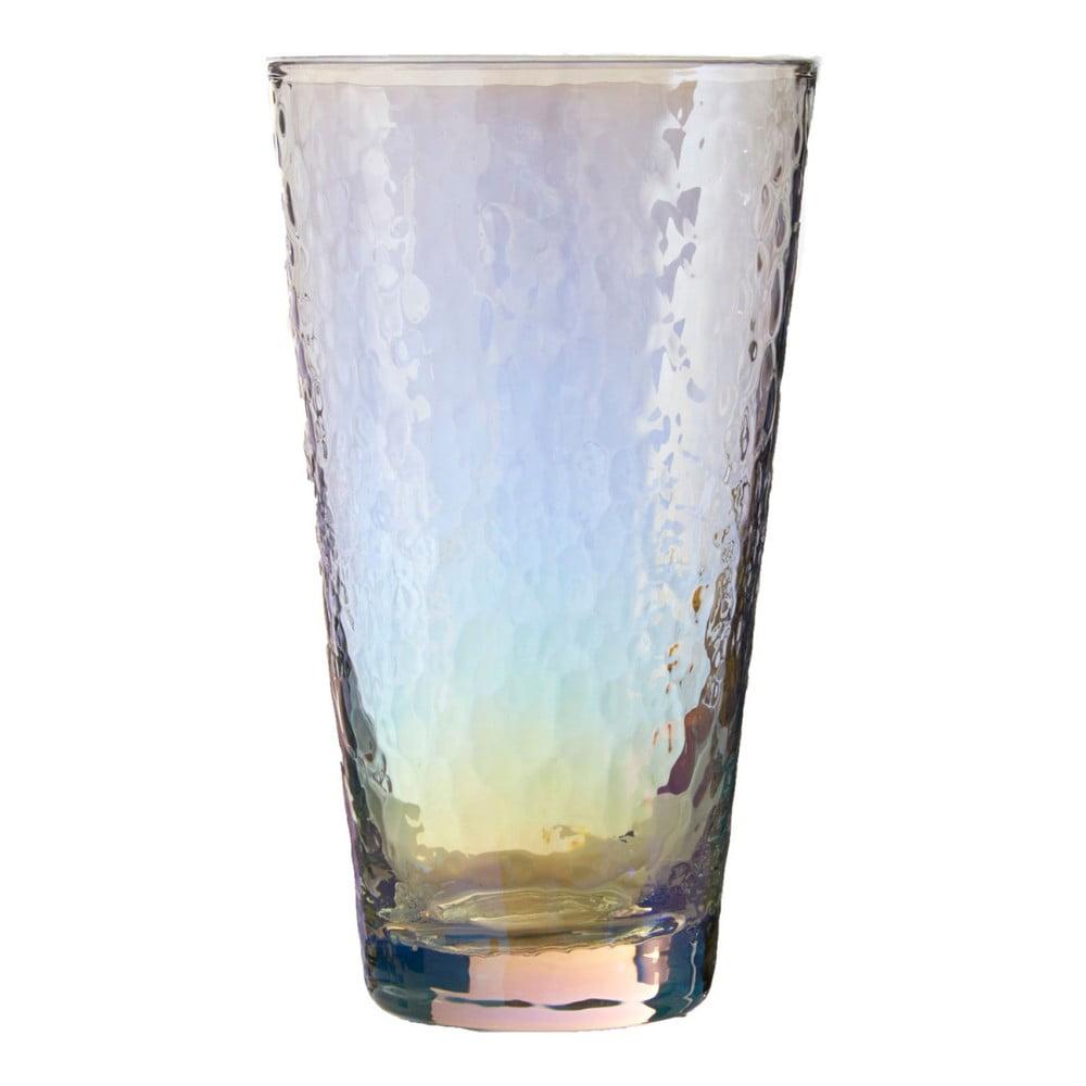 Sada 4 sklenic Premier Housewares Hammered, 445 ml