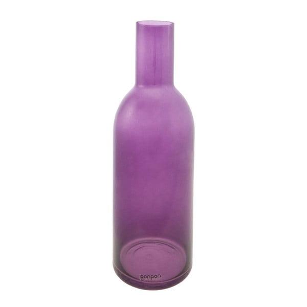 Váza/svícen Bottle 36,8 cm, fialová