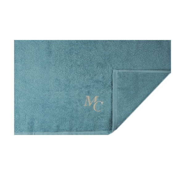 Set modrého ručníku a osušky Samantha
