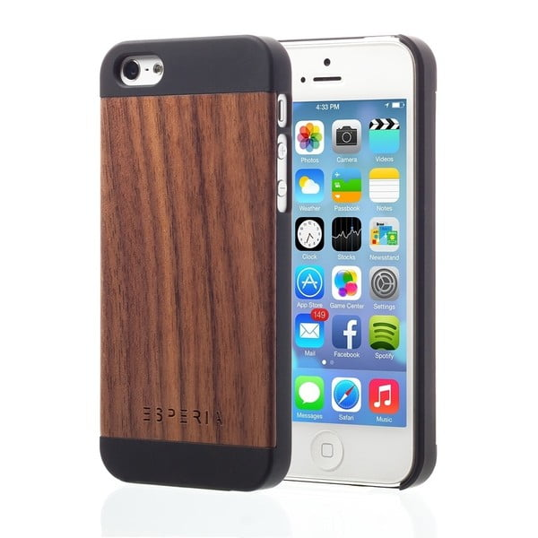 ESPERIA Evoque Walnut pro iPhone 5/5S