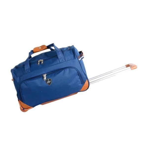 Modrá cestovní taška na kolečkách GENTLEMAN FARMER Sporty, 45 l