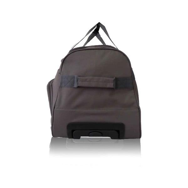 Šedá cestovní taška na kolečkách Les P'tites Bombes Goteborg,91l