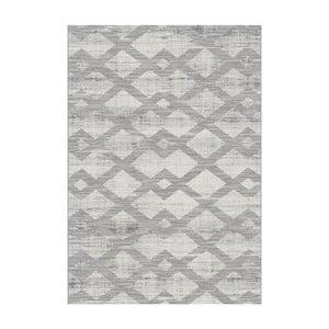 Šedý koberec Universal Manu, 57x110cm