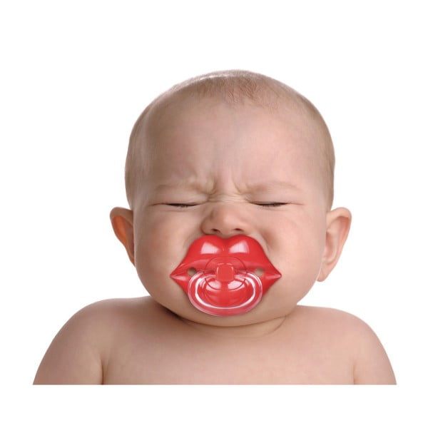 Dětský dudlík Fred & Friends Chill Baby Lips