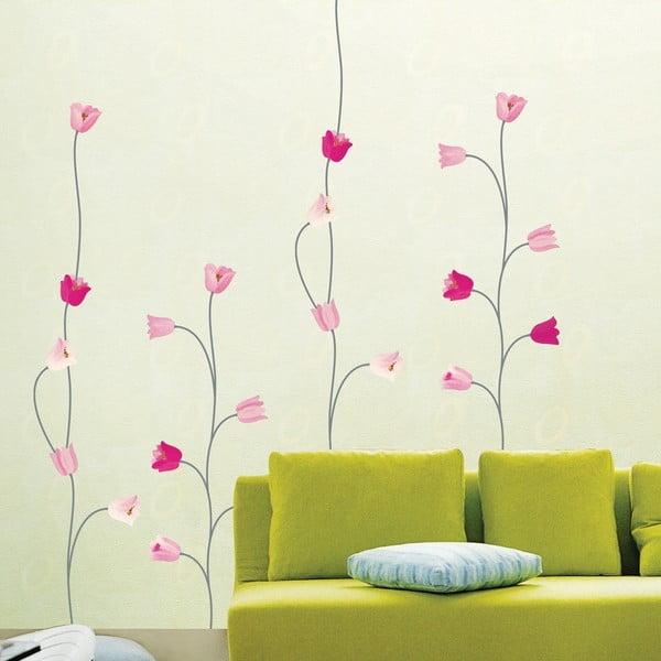 Samolepka Ambiance Pink Poppy