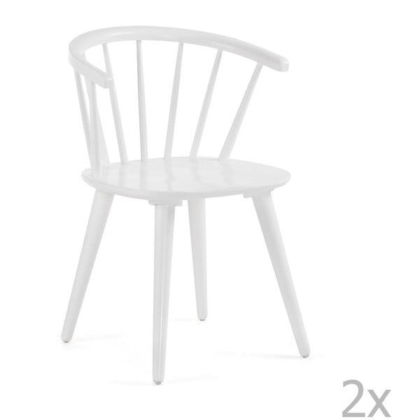 Krise 2 részes fehér étkezőszék szett - La Forma