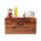 Přenoska s popisovací tabulí z akáciového dřeva T&G Woodware Glorious
