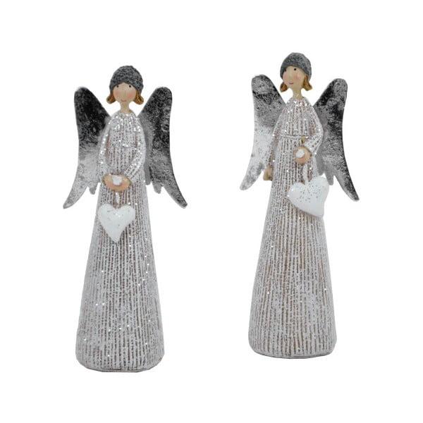 Set 2 figurine decorative de Crăciun Ego Dekor Angels