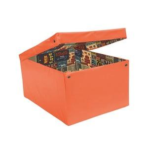 Úložná krabice Ordinett Orange Pub