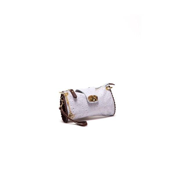 Kožená kabelka Isabella Rhea 2024 Grigio
