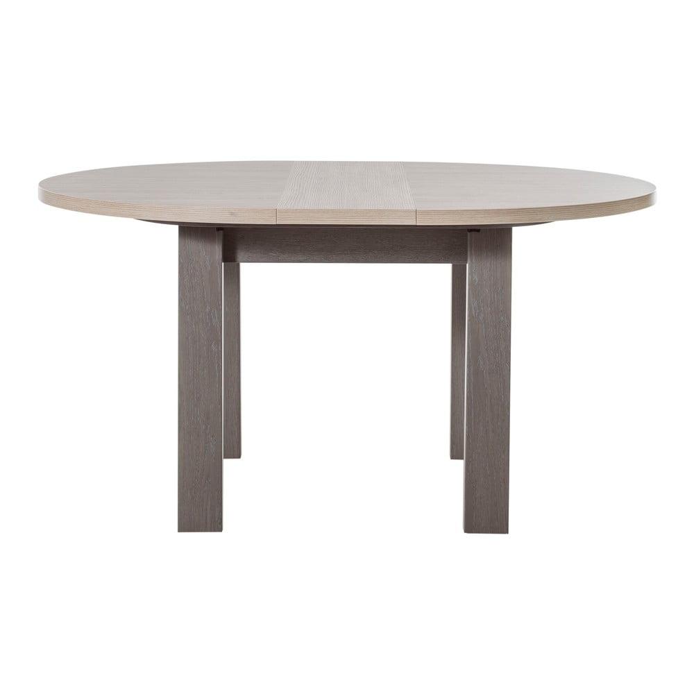 Tmavě šedý kulatý rozkládací stůl Gami Toscane