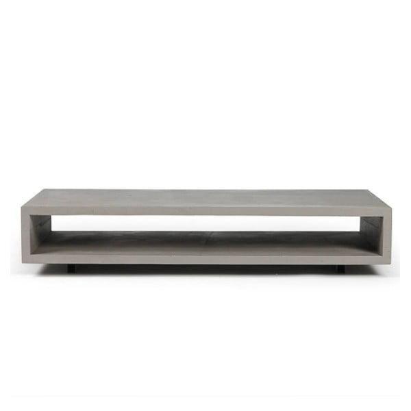 Monobloc beton dohányzóasztal - Lyon Béton