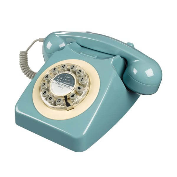 Retro funkční telefon Serie 746 French Blue