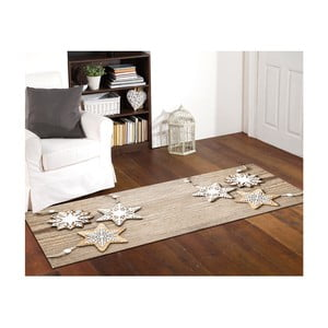 Vysoce odolný běhoun Webtappeti Natale Sweet Snowflakes, 60 x 150 cm
