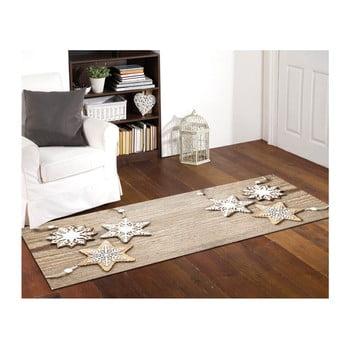 Covor foarte rezistent Webtappeti Natale Sweet Snowflakes, 60 x 110 cm