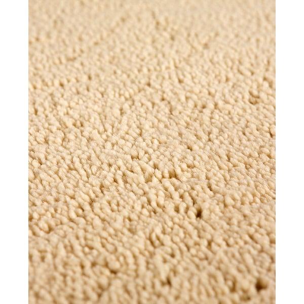 Vlněný koberec Pradera, 90x160 cm, krémový