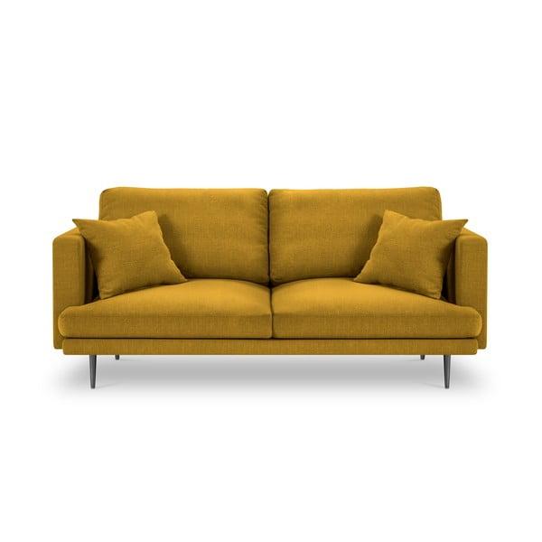 Canapea cu 3 locuri Milo Casa Piero, galben