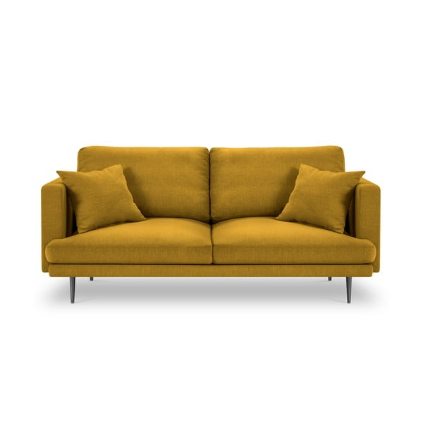Žltá trojmiestna pohovka Milo Casa Piero