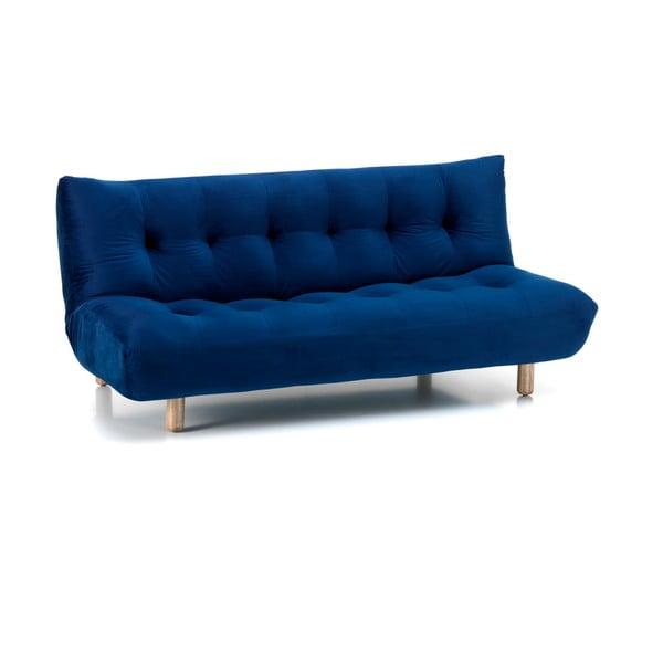 Niebieska rozkładana sofa Design Twist Tampico
