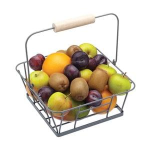 Košík na ovoce, kovový