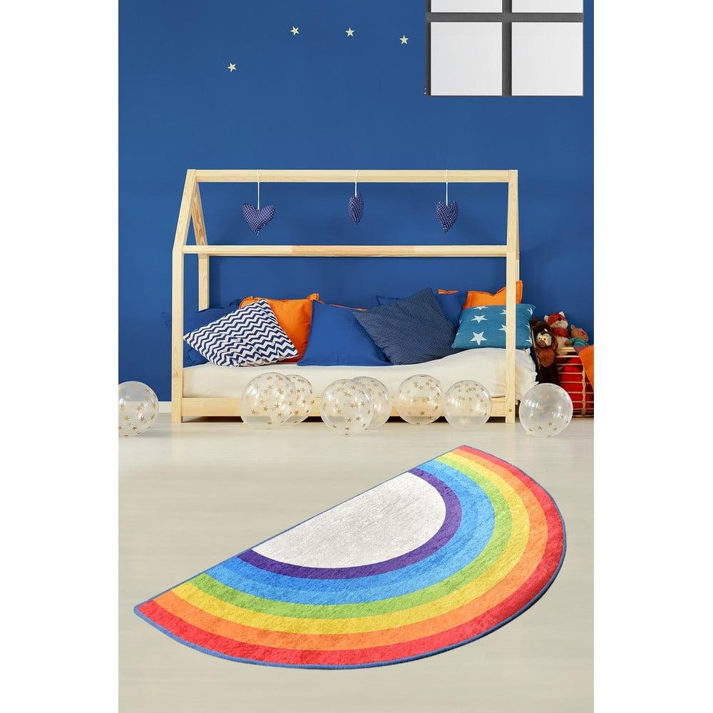 Dětský protiskluzový koberec Chilai Rainbow,85x160cm