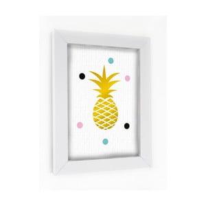 Obraz v rámu Pineapple