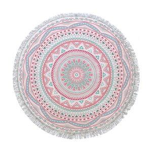 Kruhová osuška Mandala, ⌀155cm