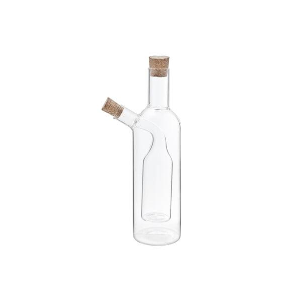 Dvojitá lahev na olej a ocet Transparant