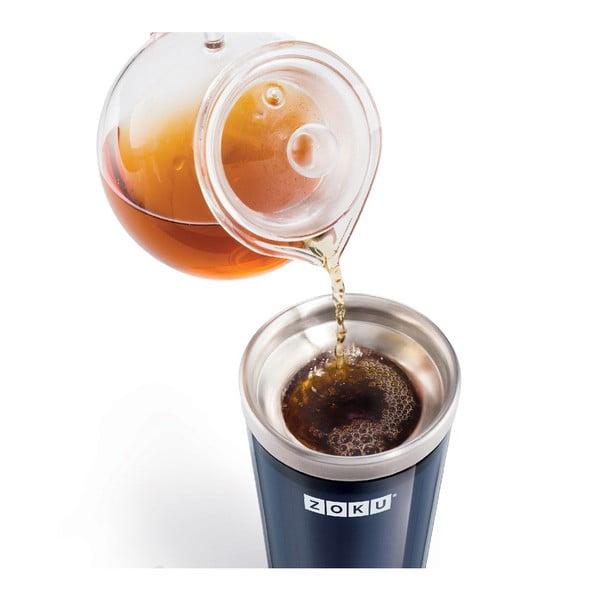 Fialový kelímek na ledovou kávu ZOKU Iced Coffee