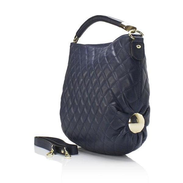 Kožená kabelka Markese 6937 Blue