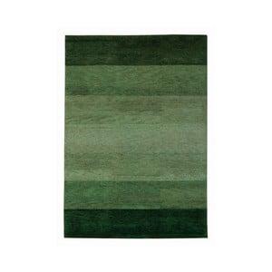 Koberec Baku Stripe Green, 70x140 cm