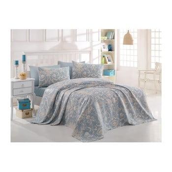 Cuvertură din bumbac pentru pat dublu Andalucia, 200x235cm de la EnLora Home