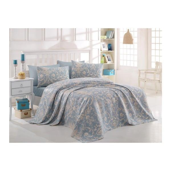 Cuvertură din bumbac pentru pat dublu Andalucia, 200x235cm