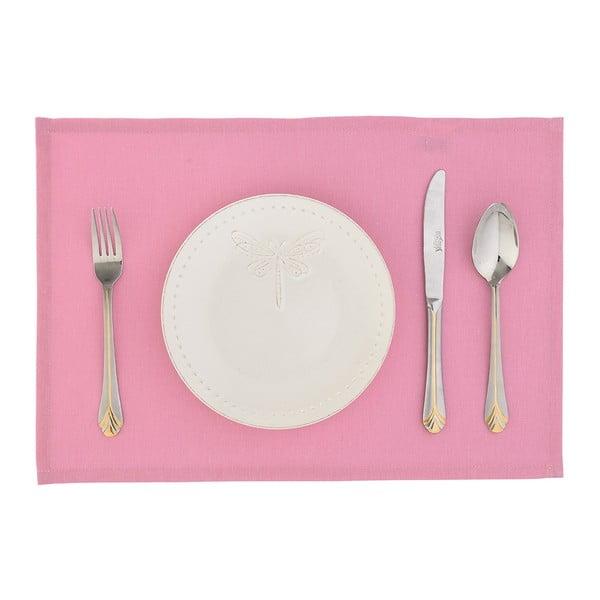 Set 2 suporturi farfurii Apolena Joy, roz