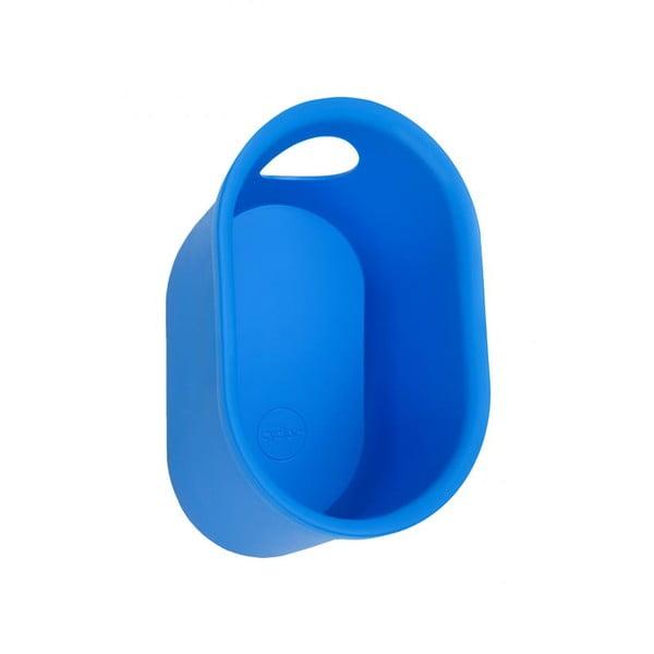 Nástěnný stojan na cyklistické doplňky Cycloc Loop, modrý