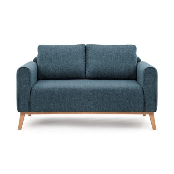 Milton olajkék kétszemélyes kanapé, 156 cm - Vivonita