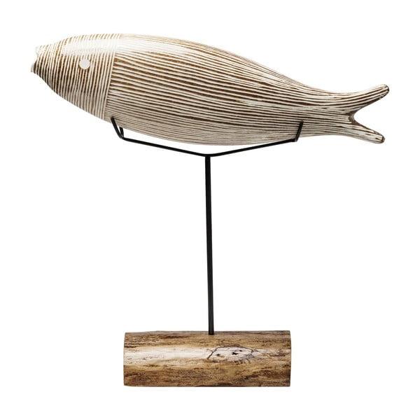 Pesce Stripes dekorációs szobor, magasság 66 cm - Kare Design