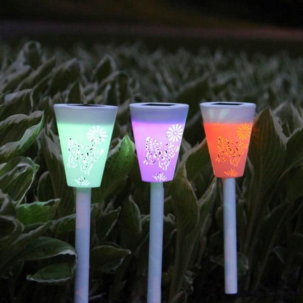 Zahradní světlo Solar Energy Path Lights, 3 ks